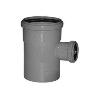 Тройник канализационный 100х100х50х90 с кольцом