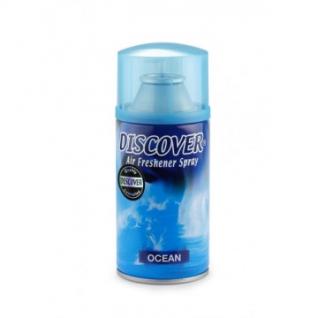 Баллон сменный для автоосвежителя DISCOVER Ocean(Океан) 320 мл. спрей