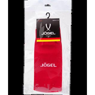 Гетры футбольные Jögel Essential Ja-006, красный/серый размер 38-41