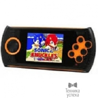 "Sega SEGA Genesis Gopher Wireless LCD 2.8"", ИК-порт +20 игр (оранжевая)"