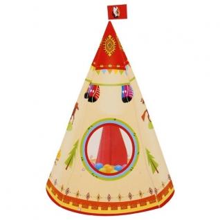 Палатка Детская Игровая Вигвам В Сумке (Русс. Уп.) 56*56*2См