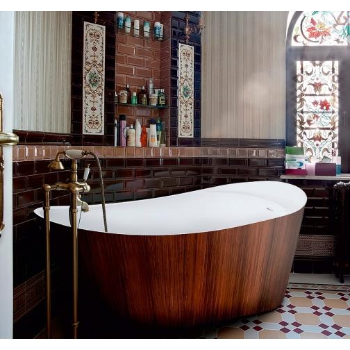 Отдельно стоящая ванна LAGARD Minotti Brown wood 6944874 1