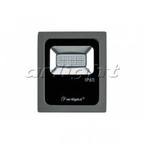Arlight Светодиодный прожектор AR-FLG-FLAT-10W-220V Blue