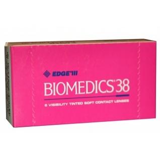 Biomedics 38. Оптич. сила -9,5. Радиус 8,6