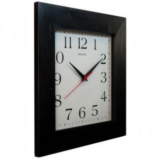 Часы настенные Квадрат, дерево, венге, 34x34 см ДС - 4АС6 - 010