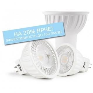 Gauss Лампа Gauss LED Elementary MR16 GU5.3 5.5W 2700К 1/10/100