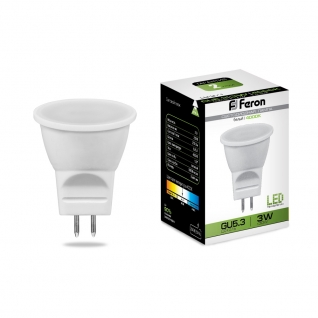 Светодиодная лампа Feron LB-271 (3W) 230V G5.3 4000K MR11