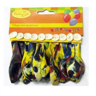 Шары надувные Многоцветный набор 10шт/уп Х-67(763274)(100304).