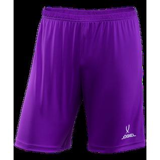 Шорты футбольные Jögel Camp Jfs-1120-v1-k, фиолетовый/белый, детские размер YS