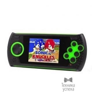 "Sega SEGA Genesis Gopher Wireless LCD 2.8"", ИК-порт +20 игр (зелёная)"