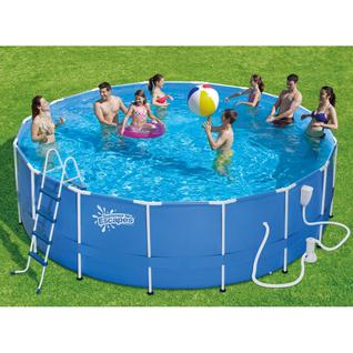 PolyGroup Каркасный бассейн Polygroup Summer Escapes P20-1652-B, 488x132 см