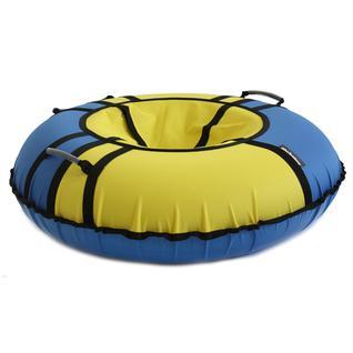 Тюбинг Hubster хайп голубой-желтый (100см)