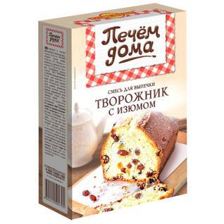 """Русский продукт Кекс Печем дома """"Творожник с изюмом"""" 300 г"""