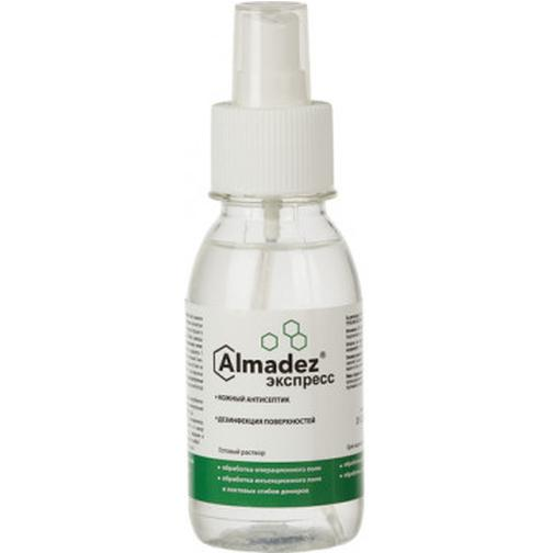 Антисептик кожный Алмадез-Экспресс 100 мл, спрей 40108085 2
