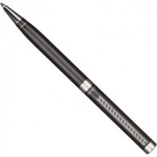 Ручка шариковая VERDIE Ve-321 черный лак СТ гравир, синий ст, футляр