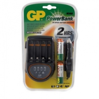 Зарядное устройство GP PB50GS270CA 4 слота в компл. 4 акк. 2700mAh