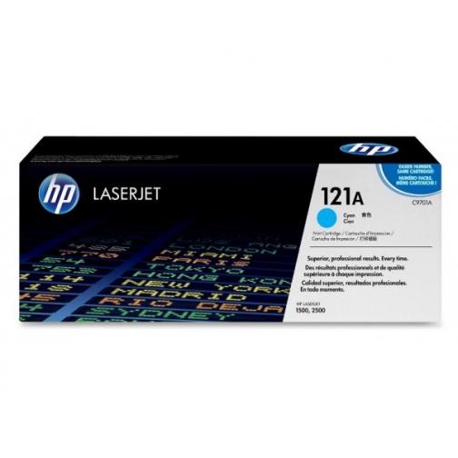 Оригинальный картридж C9701A для HP CLJ 2500, 2550 (голубой, 4000 стр.) 810-01 Hewlett-Packard 852525 1