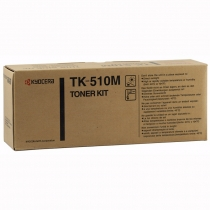 Совместимый тонер-картридж TK-510M для Kyocera Mita FS-C5020/5025N/5030N (пурпурный, 8000 стр.) с чипом 4522-01 Smart Graphics