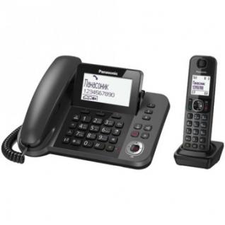 Радиотелефон Panasonic KX-TGF310RUM черный