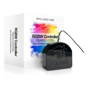 Модуль управление светодиодными лентами и преобразователь аналоговых входов Fibaro RGBW Controller FIB_FGRGB-101