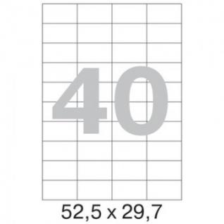 Этикетки самоклеящиеся Promega label 52,5х29,7 мм / 40 шт. на лис А4 (100л.