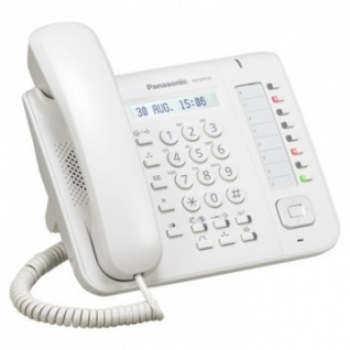 Телефон системный Panasonic KX-DT521RU, белый