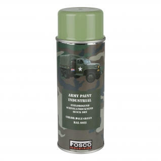 Fosco Краска аэрозольная армейская 400 мл., цвет тускло-зеленый