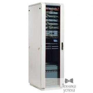 Цмо ЦМО! Шкаф телеком. напольный 42U (600x800) дверь стекло (ШТК-М-42.6.8-1ААА) (3 коробки)