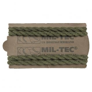 Mil-Tec Шнур резиновый для брюк 2 пары, цвет оливковый