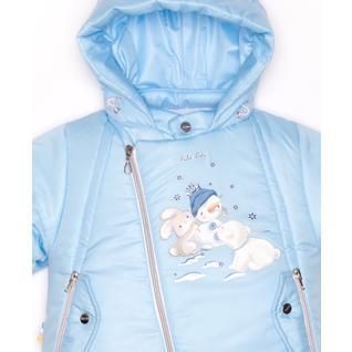 Комплект MalekBaby (Куртка + Полукомбинезон), Без опушки, Светло-голубой 412ШМ