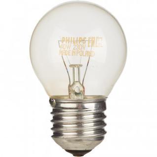 Электрическая лампа Philips шарик/прозрачная 40W E27 CL/P45 (10/100)