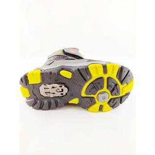 DKA T305-2 ботинки серый желтый Дракоша 27-32 (30)