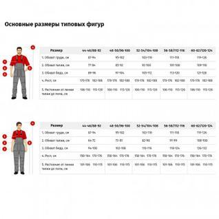 Костюм для горничных и уборщиц женский у10-КБР василек (р.44-46)р.170-176