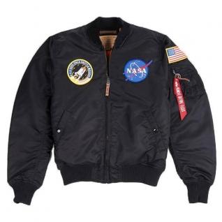 Alpha Industries Куртка Alpha Industries MA-1 VF NASA, цвет черный