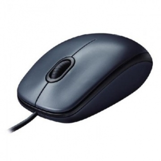 Мышь компьютерная Logitech Mouse M90 Black/Grey USB (910-001794)