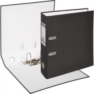 Папка-регистратор BANTEX ECONOMY, 1446-10, б/мет.уг., 70мм, черный