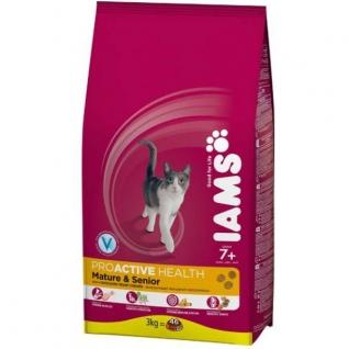 IAMS Iams® ProActive Health™ Mature & Senior для зрелых и пожилых кошек с курицей 10 кг