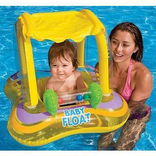 "Круг для плавания Intex 56581 ""kiddie Float"" 81х66 см (от 1-2 года)"