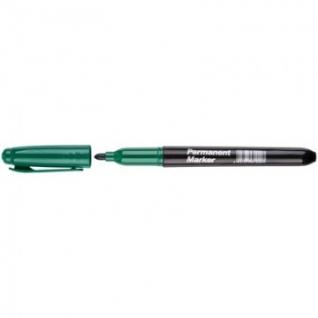 Маркер перманентный зеленый 2 мм