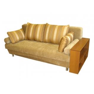 Палермо 1 диван-кровать с боковиной полкой