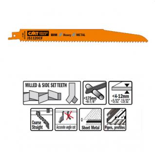Пилки сабельные СМТ (BIM) 20 штук для металла 225x2,9x9TPI JS1120CF-20