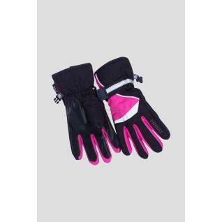 Okway ydi Перчатки зимние GA-3-E черно/розовые