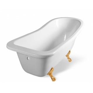 Отдельно стоящая ванна Эстет Царская 170x73 белая