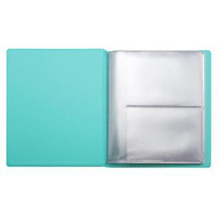 Визитница настольная Attache на 24 визитки ПВХ цвет мята