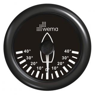 Wema Индикатор положения пера руля чёрный Wema IRR-5-BB 0 - 180 Ом 12/24 В