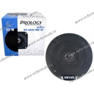Колонки PROLOGY NX-1022 MKIII 100мм 2-полосные коаксиальные 60Вт SALE