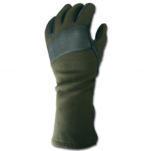 Made in Germany Перчатки тактические, Бундесвер, оливкового цвета, б/у 5026099