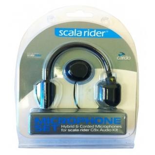 Запасной микрофон G9x (гибридный+ микрофон на проводе) Cardo Scala Rider