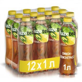 Чай холодный FuzeTea лимон-лемонграсс 0,5х 12