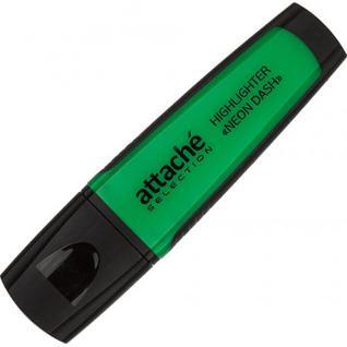 Маркер выделитель текста Attache Selection Neon Dash 1-5мм зеленый
